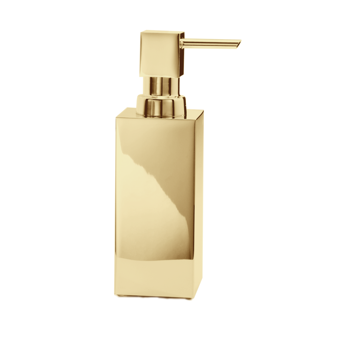Corner Soap Dispenser Free Standing DW395 - Gold
