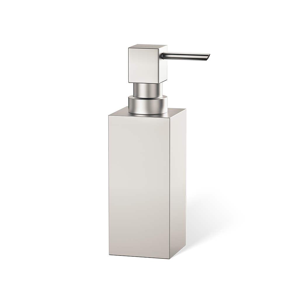 Corner Soap Dispenser Free Standing DW395 - Satined Nickel