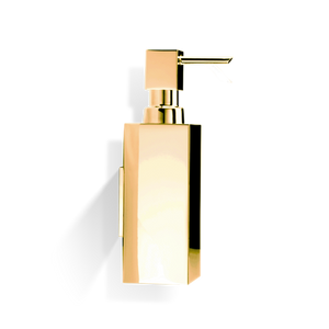 Corner Soap Dispenser Wall Mounted DW375 N - Gold