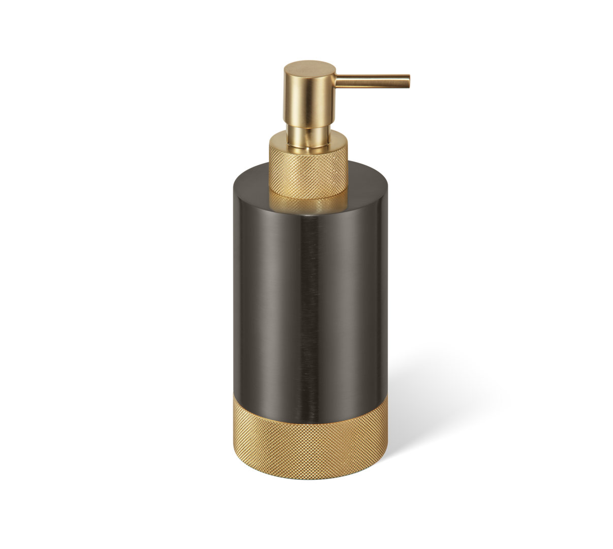 Soap dispenser Club SSP1 dark bronze / matt gold