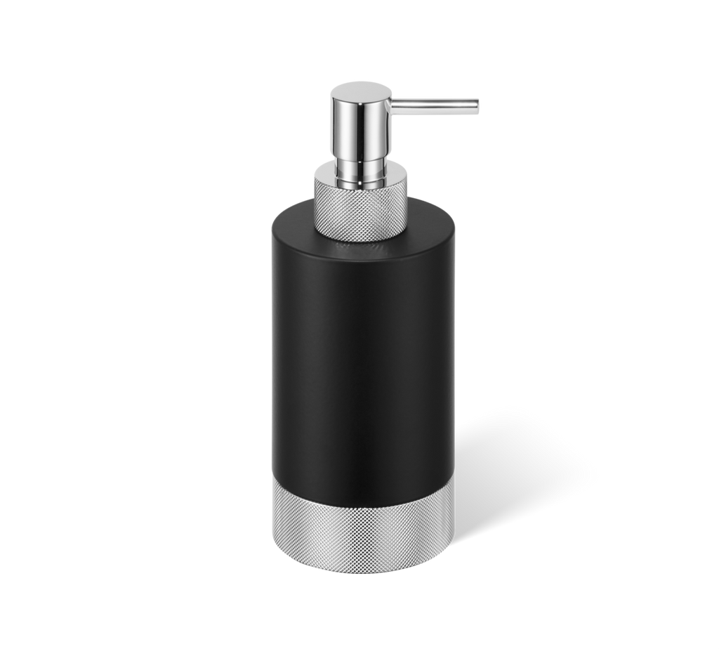 Soap dispenser Club SSP1 matt black / chrome