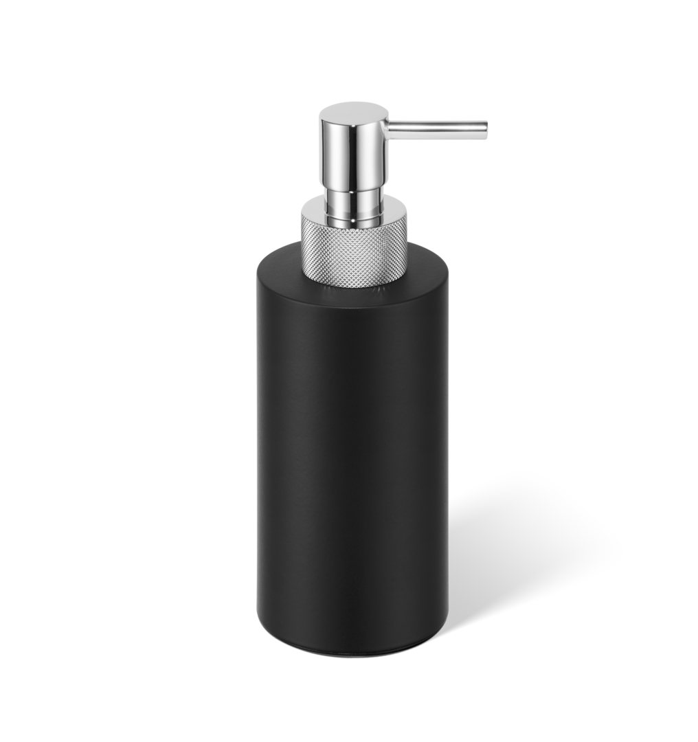 Soap dispenser Club SSP3 matt black / chrome