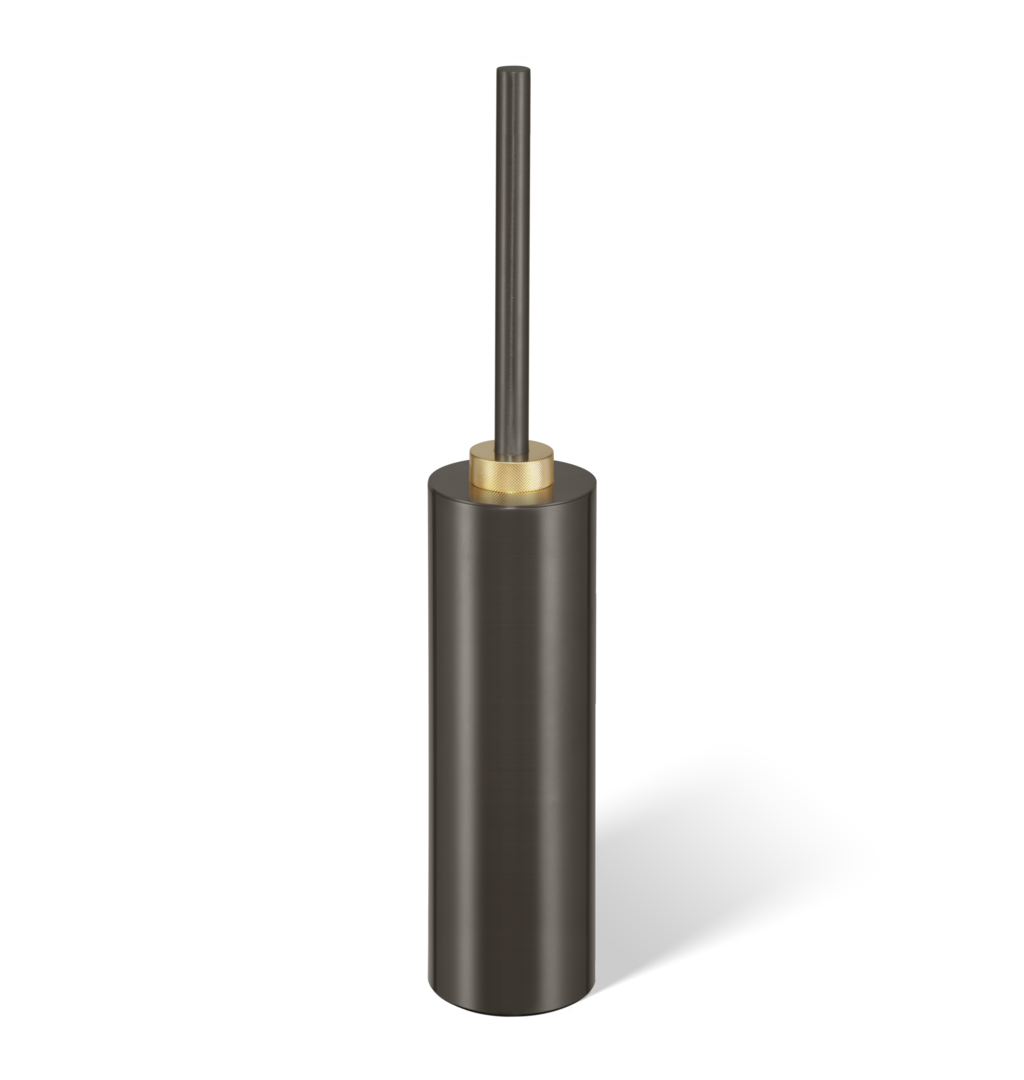 Toilet Brush Set Club SBG Free Standing - Dark Bronze