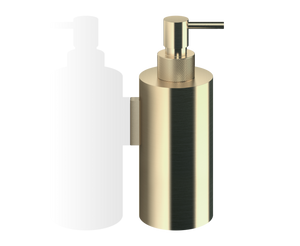 Club Soap Dispenser Wall Mounted WSP3 - Matte Gold