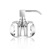 Kristall soap dispenser crystal clear - chrome