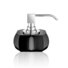 Kristall soap dispenser anthracite - chrome