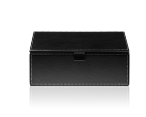 Brownie Multi Purpose Box BMD2 Artificial Leather - Black