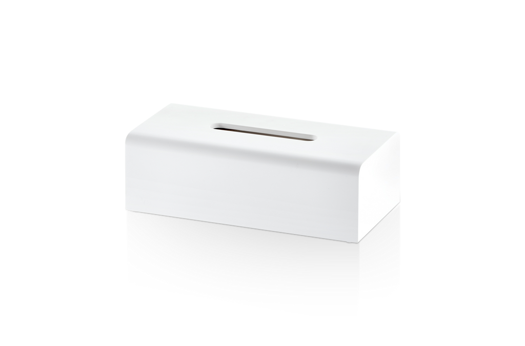 Tissue Box Stone KB - Matt White