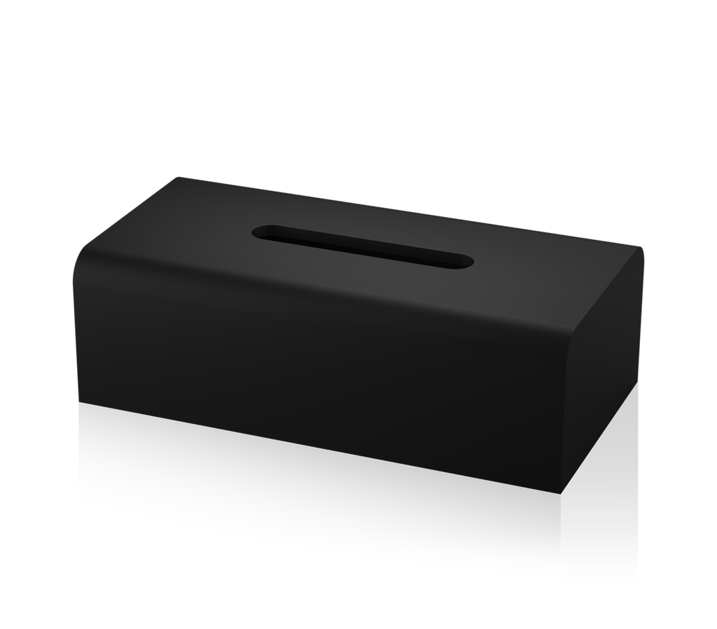 Tissue Box Stone KB - Matt Black