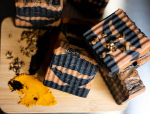 Turmeric & Charcoal Soap Bar