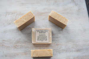 Goat Milk, Oat, and Hemp Honey Bar