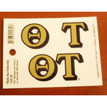 Greek Letter Sticker