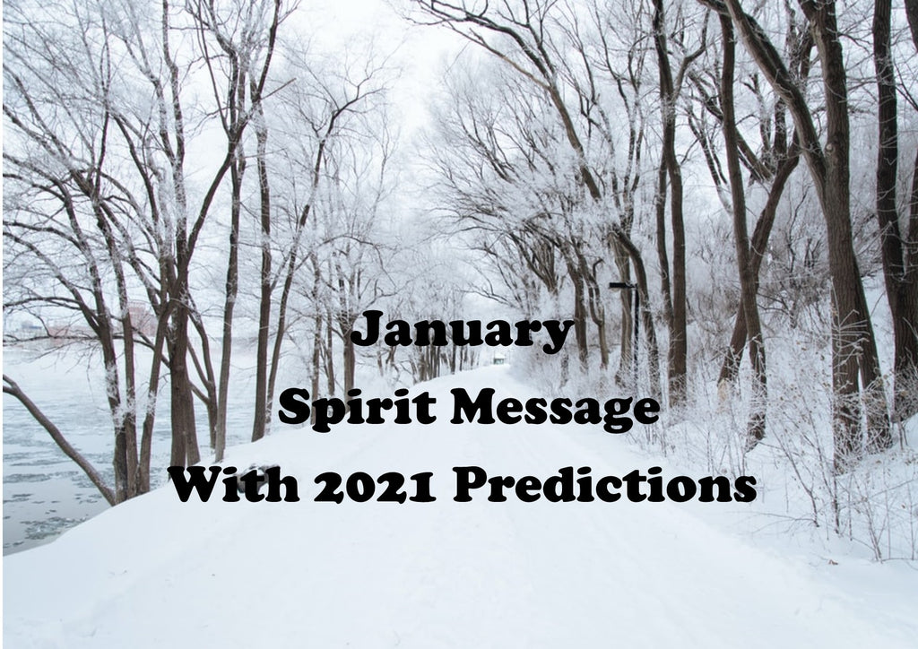 January Spirit Message
