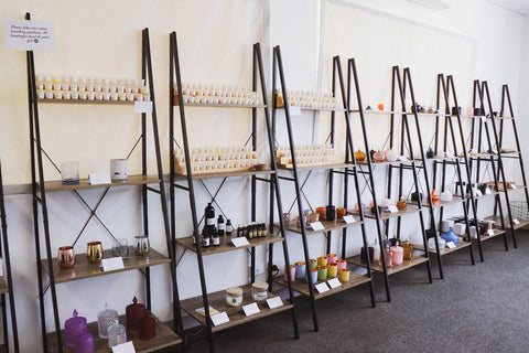 Gold Coast Candle Supplies Showroom