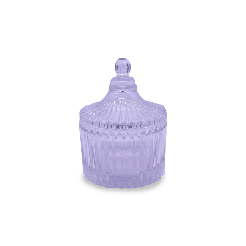 Carousel with lid - Clear Small