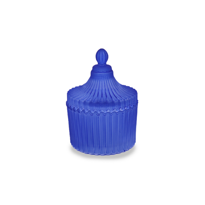 Carousel with lid - Royal Blue Small