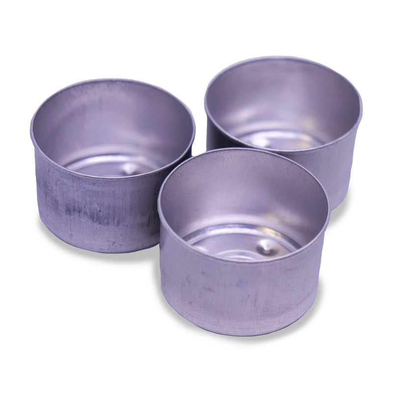 9hr Aluminium Tealight Cups