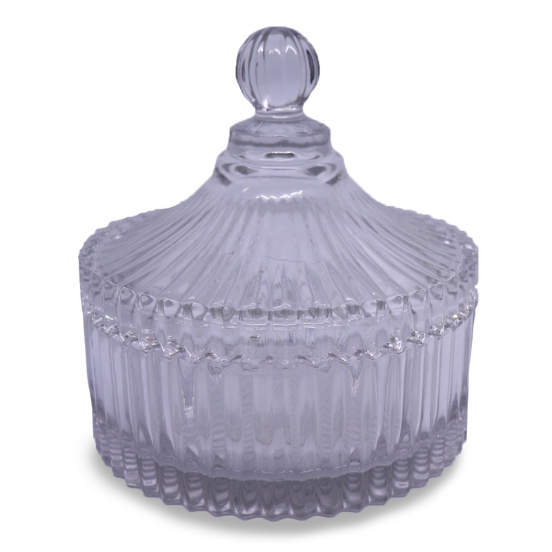 Carousel with lid - Large Clear