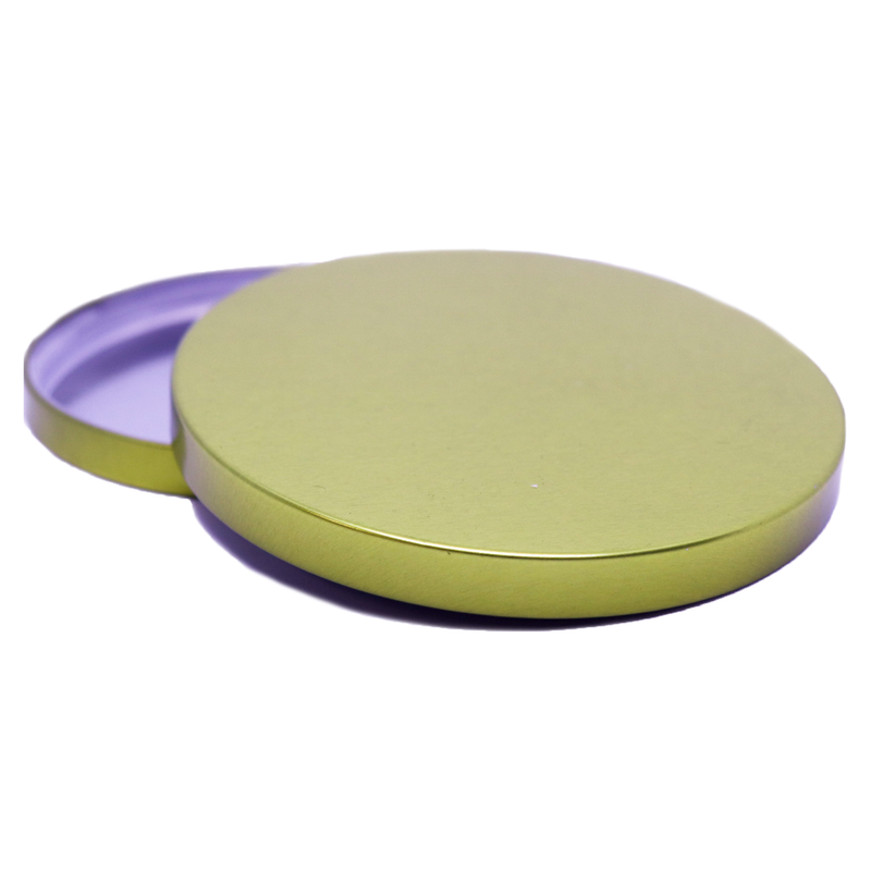 Stainless Steel Lids - Large - Gold