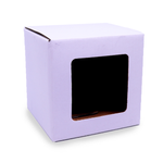 Candle Gift Box - Large - White - with Window