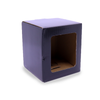 Candle Gift Box - Medium - Black - with Window