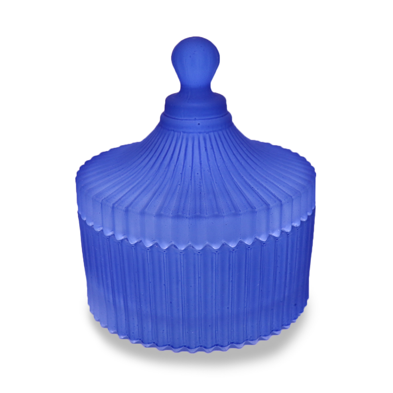 Carousel with lid - Royal Blue Medium