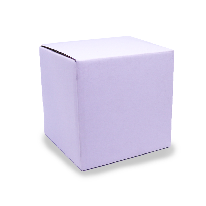 Candle Gift Box - Medium - White - No Window