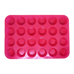 Silicone Melt Moulds - 24 Cavity Soap and melt