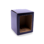 Candle Gift Box - Small - Black - with Window