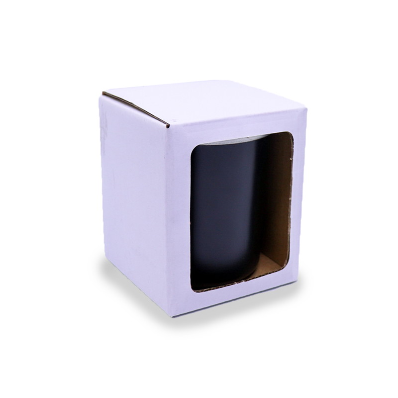 Regent Gift Box - Small - White - with Window