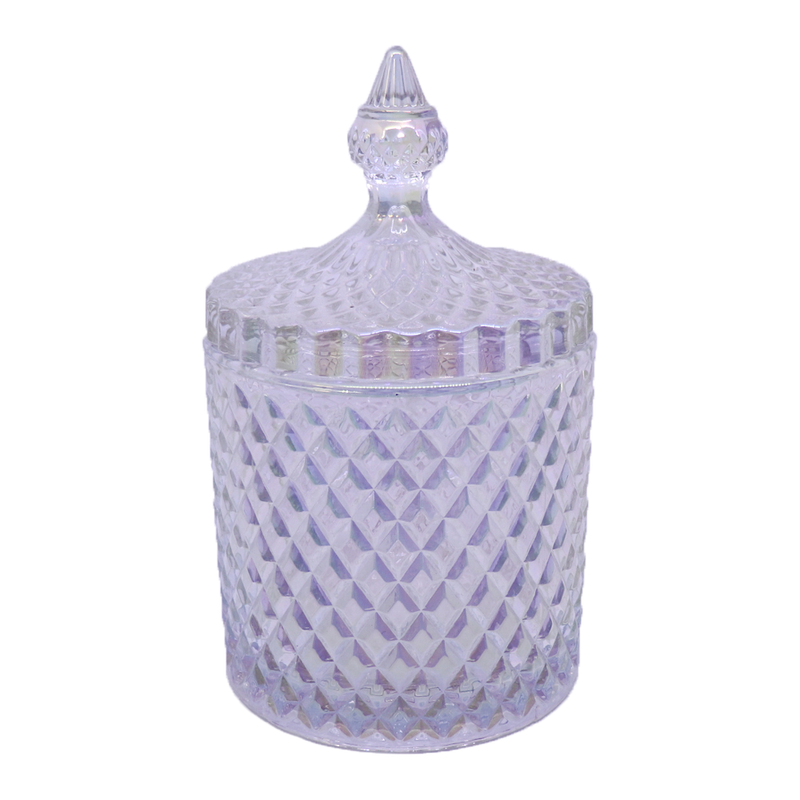 Windsor Carousel with lid - Pearl - Tall