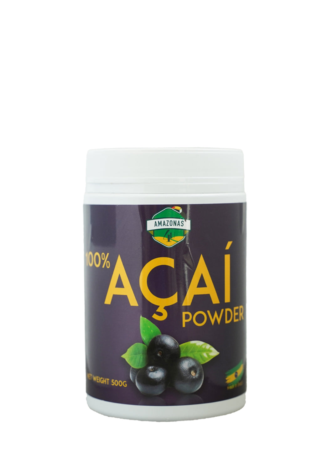AÇAI POWDER 500G BOTTLE