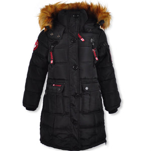 Canada Weather Gear Girls Insulated Parka