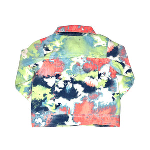 Girls Chillipop Tye Dyed Denim Jacket