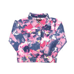 Load image into Gallery viewer, Girls Chillipop Tye Dyed Denim Jacket