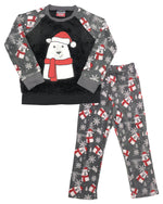 Load image into Gallery viewer, Mac Henry Boys Holiday Sherpa Pajamas