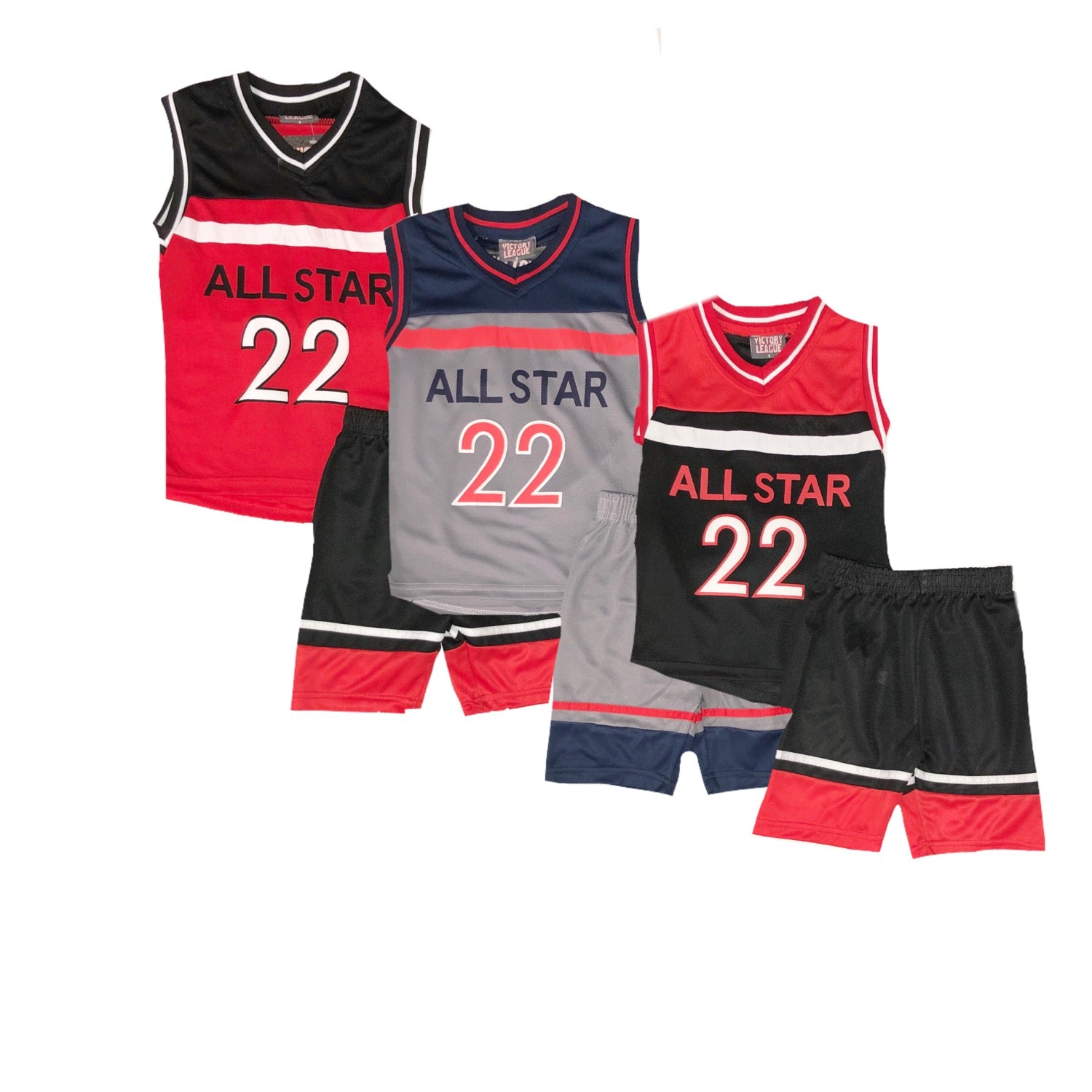 Victory League  - 2 pc  All Star  Short Set