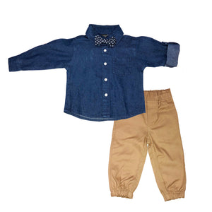 Quad Seven Infant  3 Piece Jogger  Set