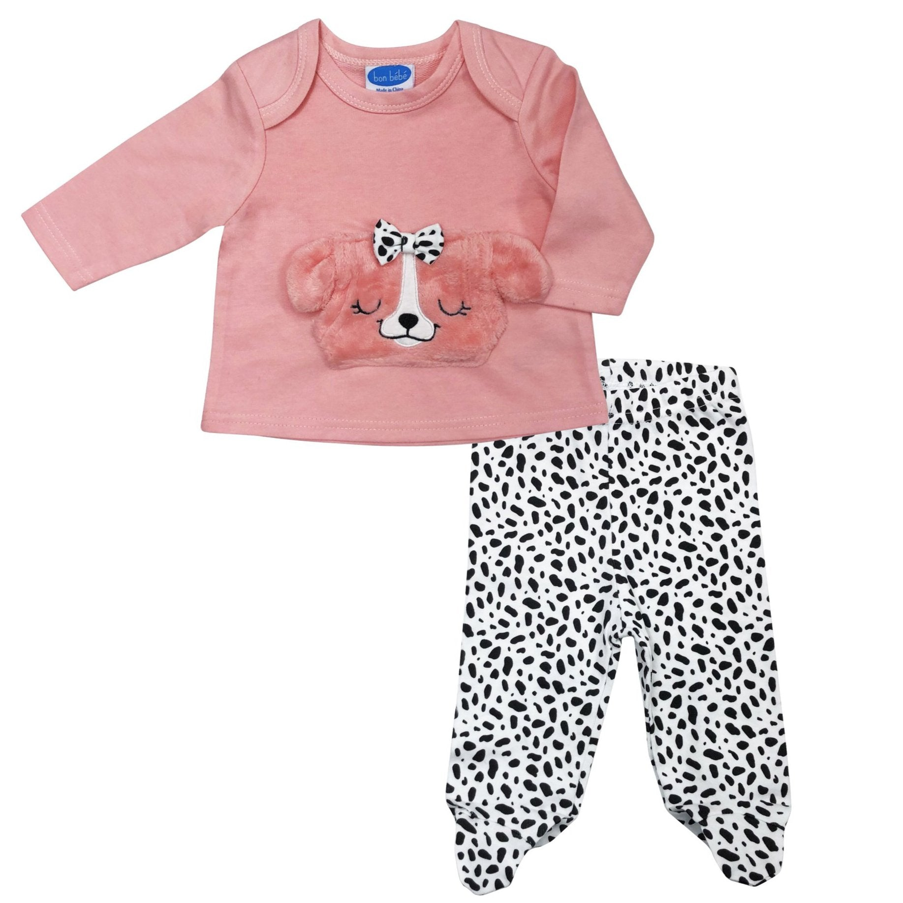 BON BEBE Infant Girl 2-Piece Set