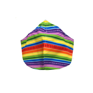Rainbow 3-Ply Reversible Fabric Face Masks
