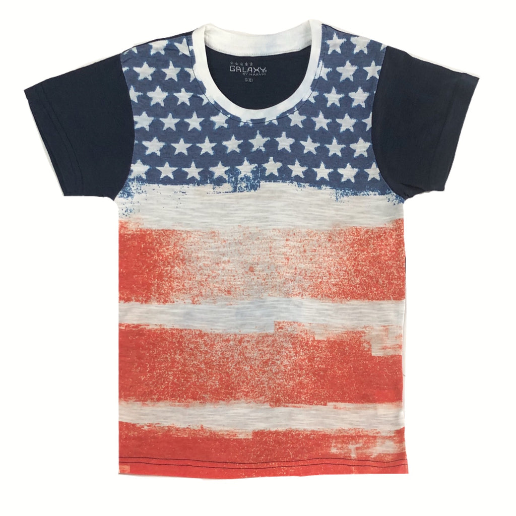 Galaxy- Americana Short Sleeve T-Shirt