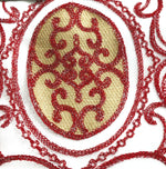 Load image into Gallery viewer, Romela - Single Embroidery Panel with Attached Valance