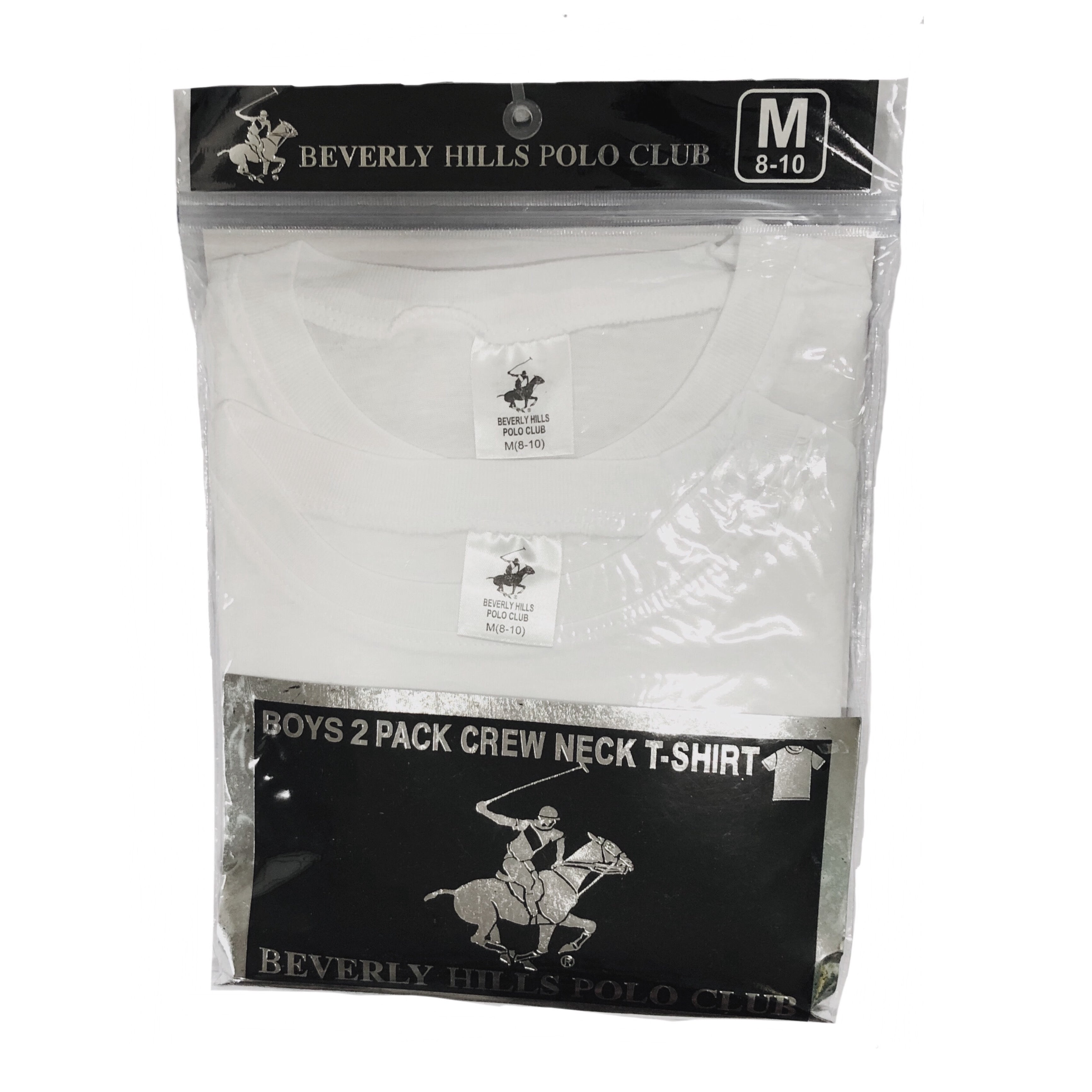 Beverly Hills Polo Club 2 pk Crew Neck T-Shirt