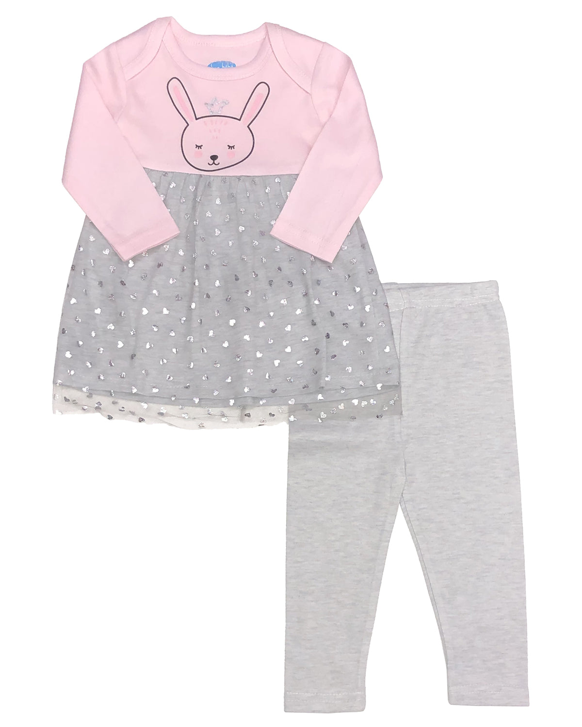 Bon Bebe Infant Girls 2-Piece Legging Set