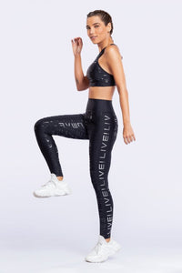 LIVE! Icon Lux Legging-Black