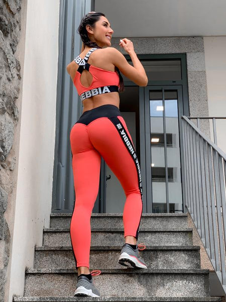 LelesBare/NEBBIA Power Your Hero Iconic Leggings 531-Peach