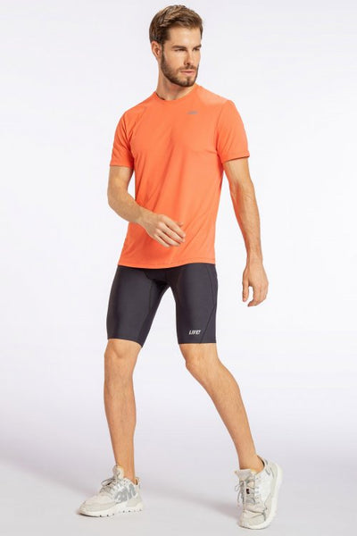 Essential Hard Training T-Shirt-Fresh Coral