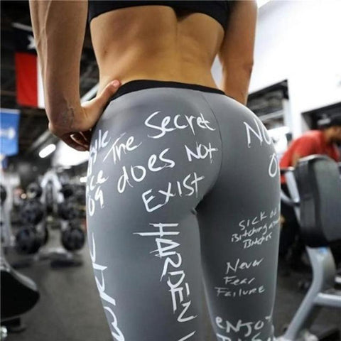 Print yoga pants custom fitness printed yoga leggings for women
