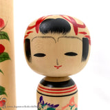 Kokeshi Trio by Master Artisan Isao Sasaki. BRAND NEW! Colorful and Cute.