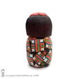 Kokeshi. Brand New Gorgeous Kokeshi Doll by Ichiko Yahagi. Japanese Wooden Doll!